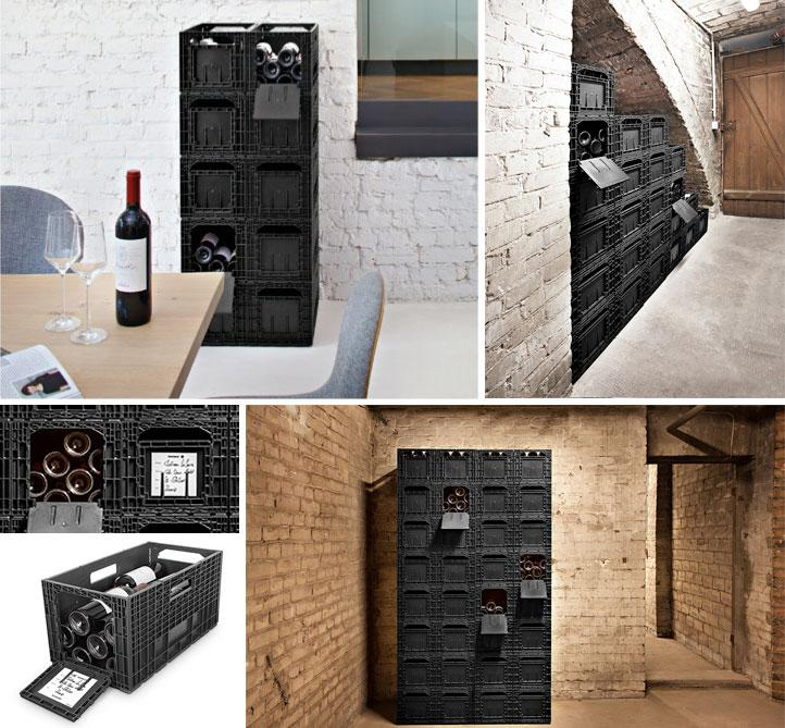 Winebox collage